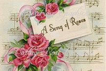 ♫ Ring Around the Roses♫ / Roses and Music together