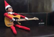 Guitar Gifts / Creative guitar gifts and handmade guitar gift products by AXE HEAVEN