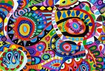 Mandalas/Paintings / Its all about colour