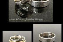 My ring designs / A few of my ring designs......