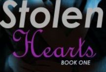 Stolen Hearts / WIP - so far, my only contemporary romance. Two sisters must become thieves to steal proof of their father's innocence. But when both sisters become involved with the two police detectives? Will they succeed in their plan or be caught?