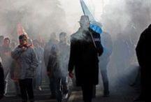 Manifestations / Différentes manifestations notamment réforme des retraites