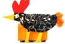 Fugler / Kreative ideer med tema fugler - reder og egg