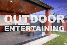 Outdoor Entertaining / Who doesn't love entertaining outdoors
