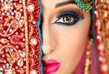 Bollywood Beauty and Beautiful Brides / gorgeous women in traditional and bridal garb / by Blue Sky Design Co.