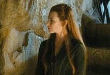 Tauriel and EvangelineLilly