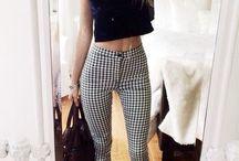 : Patterned trousers : / : Men wear the pants but women control the zipper :
