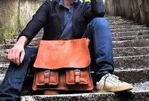 Men's Leather Messenger Handbags / Men's leather handbags have become necessary accessories for men to carry and transport laptops, files and other items required by on-the-go professionals. http://www.fenzoitalianbags.com/product-category/mens-leather-messenger-handbags/
