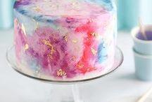 : Cake : / : I eat cake because it's someone's birthday somewhere :