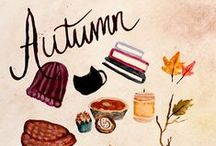 : Autumn : / : It's so strange that autumn is so beautiful; Yet everything is dying :