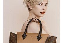 Hair and handbags / Fashion