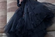 Black Noir / Black Fashion / by Adeline Rios