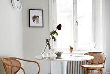 Home decor ideas / Home decor ideas. Boho white home deco ideas. City home. Nordic design