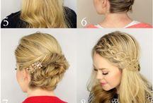 haarstyle / Leuke ideeën voor in je haar, hairdesigns