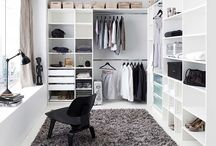 : Wardrobe : / : A woman has two problems 1. Nothing to wear 2. No room for all the clothes :