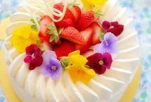 """◦•●◉✿Birthday cake✿◉●•◦ / """"Stories aren't the icing on the cake; they are the cake!"""" - Peter Guber"""