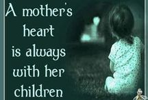 """❤MOM •*¨*•.¸¸❤¸¸.•*¨*• / """"The heart of a mother is a deep abyss at the bottom of which you will always find forgiveness."""" - Honore de Balzac"""