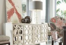"""Drexel Heritage / """"The company's history of crafting quality furniture began in 1903. Drexel Heritage has always taken a stylish eye toward helping their customers complete their homes with classic furniture that has a timeless beauty."""" (drexelheritage.com)"""