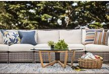 """McGuire / """"John and Elinor McGuire - the company's founder - had an innate sense of everything that defines a California lifestyle, indoors and out. McGuire captures the essence of casual luxury; unpretentious, optimisic, relaxed, warm and engaging."""" (mcguirefurniture.com)"""