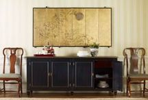 """Michael S. Smith for Baker Furniture / """"Michael S. Smith has developed a style that has been characterized as a delicate blend of European tradition and American modernism."""" (bakerfurniture/michaelssmith.com)"""