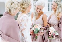 Winter wedding ideas elegant / Elegant winter wedding ideas Dusty rose color palette