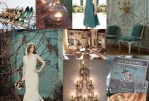 wedding charlene / Bronze, gold and teal, perfect for a subtle peacock theme?