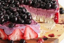 Desserts  & Snacks ~ healthy & super yummy!! / A selection of vegetarian, vegan and healthy desserts