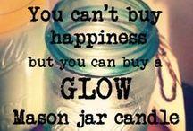 Vintage Ball© Mason Jar Candles / Luxury soy candles made in vintage Ball© Mason jars. Available from www.glowcandles.net Find us on facebook www.facebook.com/GlowSoy
