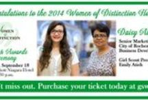 WNY Women of Distinction / Women of Distinction is the Girl Scouts of Western New York's signature fundraising event where we honor women throughout Western New York for their strength in character, dedication to community service, and commitment to mentoring and encouraging girls and young women. On this board we will share information about the Women of Distinction honorees, women, and other inspiration and leadership tips for women and girls!