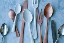 Spoon and plate