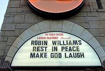 Robin Williams / This board is dedicated in loving memory to Robin Williams. July 21, 1951 - August 11, 2014 / by Virginia Caton