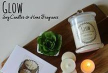The Bella Collection / Glow's newest range of soy candles, melts and tealight candles.
