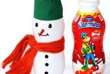Snowman ideas for ADVENT