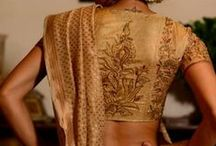 Blouse Styles / Different styles of sari blouses
