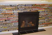 Hockey Furniture / Hockey stick memorabilia crafts and furniture