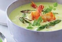 asparagus / Recipes with asparagus. You find vegan & veggie recipes and recipes with meat & fish.