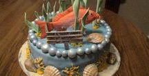 Fishing Party Food & Decorations / What could be more fun than a fishing party or a fishing themed wedding.