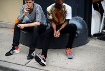 Mens Street style, etc / they know how to wear things