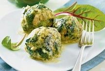 alpine cuisine / Savory and sweet foods that taste good, especially in the cold season. You find vegan & veggie recipes and recipes with meat.