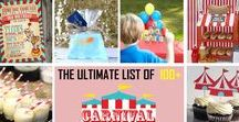 Carnival Party Ideas / Carnival theme party ideas
