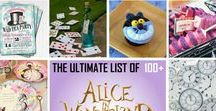 Alice in Wonderland Party Ideas / Alice in Wonderland Party Ideas by a Pro