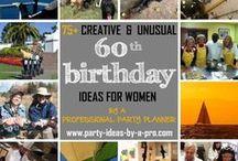 60th Birthday Ideas for Women