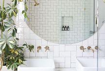bathroom styling / bathroom details, nice accessoires & decoration