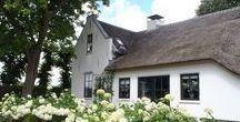 Boerderij tuinen / Groenpartners maakt inrichtingsvoorstellen voor o.a. boerderijtuinen, waarbij gelet wordt op de aansluiting van het erf op de architectuur van de boerderij en de karakteristieke kenmerken.