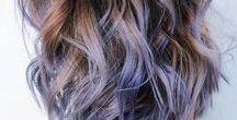 Hair Colours + Styles