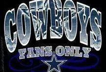 DALLAS COWBOYS /              YOU ARE IN COWBOYS COUNTRY!!!!!!!                  I'M A COWBOYS FAN 4 LIFE!!!!!!!!!       WIN LOSE OR TIE COWBOYS FAN TIL I DIE!!!!!!!!! / by Gwen Hill
