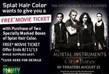 Splat hair color / Stand out from the Mundanes. / by The Mortal Instruments