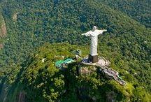 Rio de Janeiro - Brasil / Meu país. Dimensões continentais , com sotaques, cores, sabrores, climas e pessoas bem diferentes.