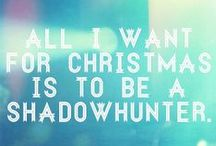 A Shadowhunter Holiday / Holiday gifting Pinspiration for those who believe the stories.  / by The Mortal Instruments