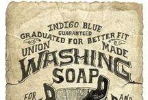 Laundry vintage advertising